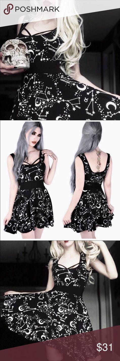 Goth Alternative Mini Skull Girls Dress Punk Metal Rocker 2-8 Years