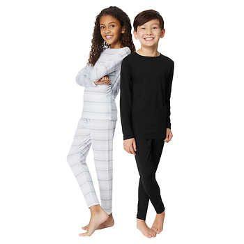 32 Degrees Heat Kids' Base Layer Set | Base layer, Black tee, Layers