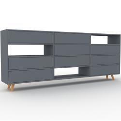 Sideboard Anthrazit Designer Sideboard Schubladen In Anthraz
