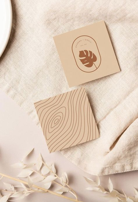 Warm & Natural Branding Inspiration