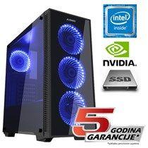 Avenio Mayhem Racunalo Intel Core I3 8100 3 60ghz 8gb 120gb Ssd 1tb Hdd Freedos Nvidia Geforce Gtx 1060 6gb Ddr5 P N 02240951 Hdd