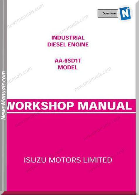Isuzu Diesel Engine Model Aa 6sd1t Workshop Manual Diesel Engine Electrical Diagram Workshop