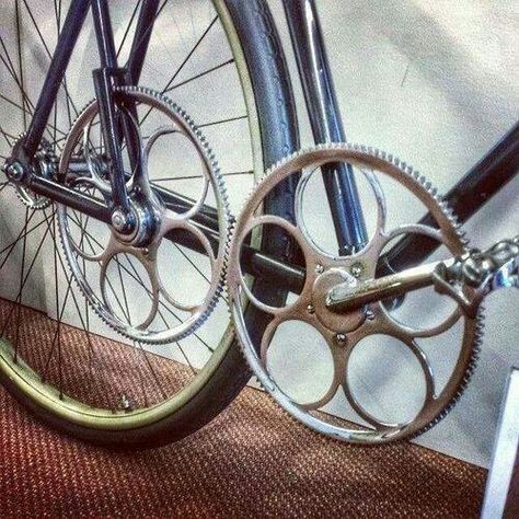 Via Aiding And Abetting 1897 Carroll Bicycling Engine And Fixie