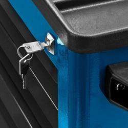 Adb Eco Werkstattwagen blau 5 SchubladenBüroshop24.de