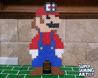 Wintergear Mario Super Mario Super Mario Perler Super
