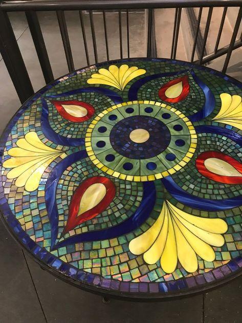 Gefliester Tisch Mosaik Mosaiktisch