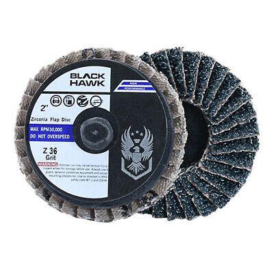 10 Pack 120 Grit 2 Mini Flap Discs Quick Change Zirconia Grinding /& Sanding Wheels