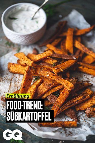 In unserer vierteiligen Serie zeigen wir euch, wie ihr mit gesunden Mahlzeiten und Snacks perfekt durch den Tag kommt. #Sü�kartoffel #Pommes #Rezepte #GQGermany