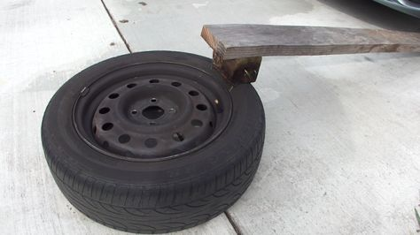 Let Air Out Of The Tires The Easy Way By Fabricating A Simple Tool