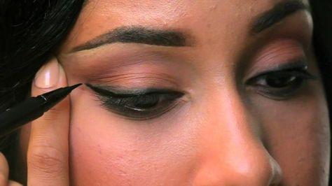How to apply eyeliner three ways by #Sephora.