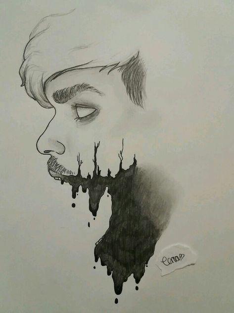 34 Ideas Art Surrealista Tumblr Scary Drawings Dark Art Drawings Creepy Drawings