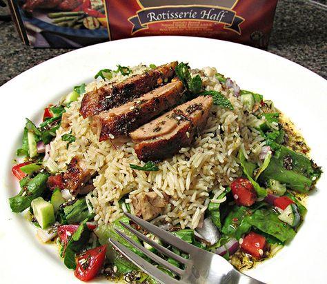 Middle Eastern Duck & Basmati Rice Salad - Maple Leaf Farms