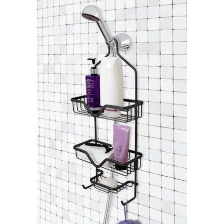 Shower Head Hanging Caddy Bathroom  Soap Shampoo Storage Organizer Shelves Bar
