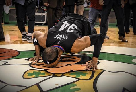 Saying goodbye is never easy. Paul Pierce will be part of the