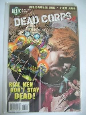 Dead Corps no.2 of 4 Oct 98 Helix Comic - Graphic Novel ref228,Please see full description and photo for condition report. Feel free to ask any questions. Thank you., #OtherA-Z
