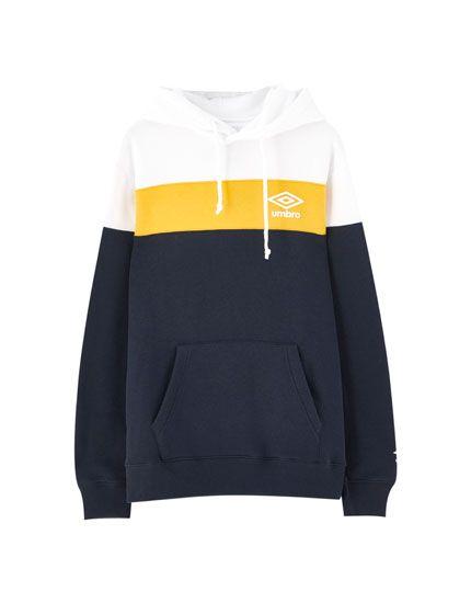 Sudadera Umbro X Pull Bear Paneles Pull Bear Clothes Umbro Nike Jacket