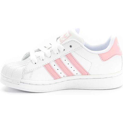 grava camuflaje Dar una vuelta  adidas G09867 Superstar 2 Preschool (White/Pink) at Shoe Palace ...