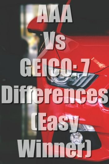 Aaa Vs Geico Car Insurance Comparison Insurance Comparison