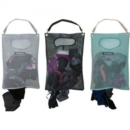 Over The Door Laundry Hamper With Attachable Shoulder Strap And