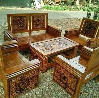 Set Kursi Tamu Minimalis Untuk Ruang Tamu Harga Mulai Dari