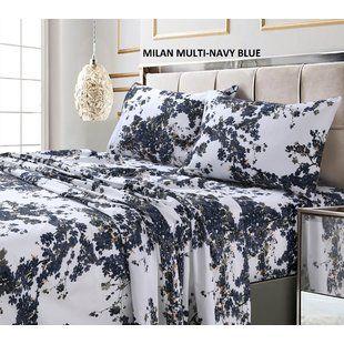 Nature Floral Sets Sheets You Ll Love Wayfair Tribeca Living King Sheet Sets Bed Sheet Sets