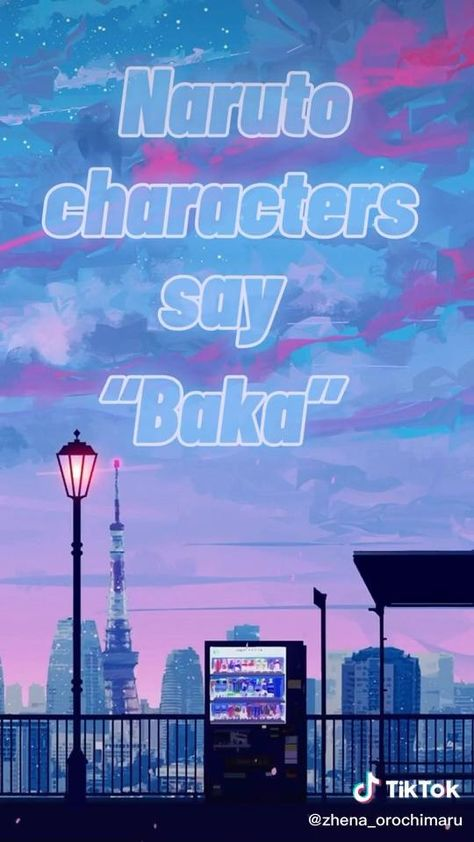 NARUTO Characters Say