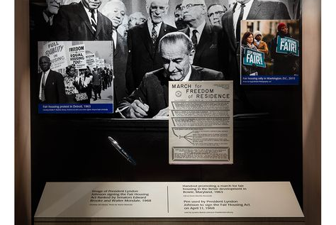 Smithsonian Marks 50th Anniversary Of The Fair Housing Act Of 1968 With Images 50th Anniversary Design Museum Smithsonian
