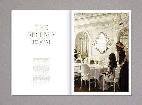 Design layout for high-end residential marketing brochure; elegant - sample wedding brochure