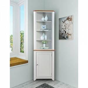 Gadson Corner Display Cabinet Brambly Cottage Size 178cm H X 59cm W X 36cm D Corner Display Cabinet Dining Room Corner Corner Cabinet Living Room
