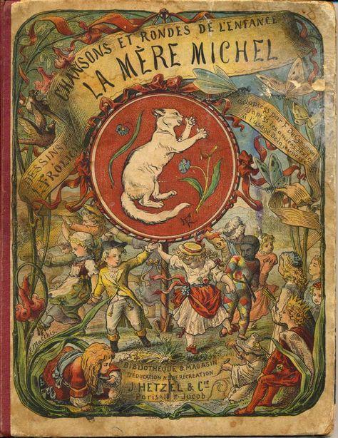 French book cover. La mère Michel