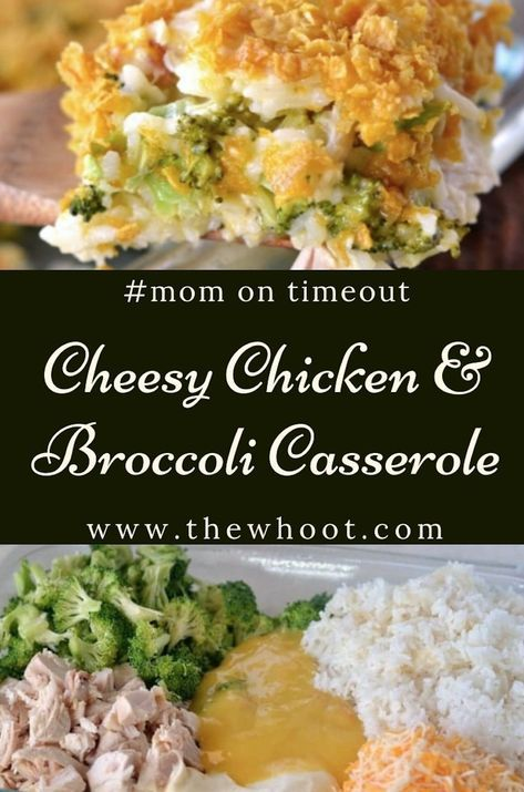 Cheesy Chicken And Broccoli Casserole Broccoli Recipes Casserole Chicken Recipes Casserole Chicken Broccoli Rice