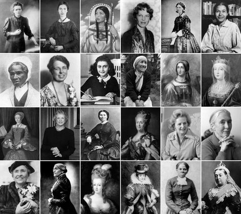 Women in History: Picture Click Quiz