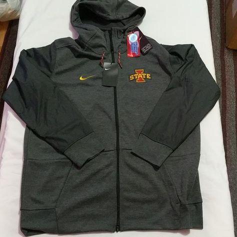 477f1ebb198f Nike Iowa State Cyclones Jacket Hoodie Mens Size XL