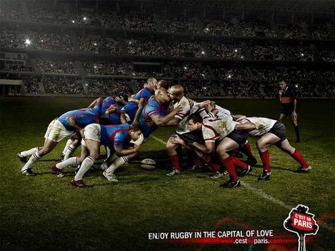 Enjoy rugby in the capital of love. Rugby world cup in Paris kicks off in september.