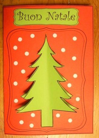 Administrator 20885 77 lavoretti di natale 2014: Biglietto Di Natale Da Ritagliare Natale Biglietti Di Natale Lavoretti Invernali