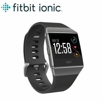 Fitbit Ionic Bluetooth Activity Tracker Charcoal//Smoke Grey BRAND NEW