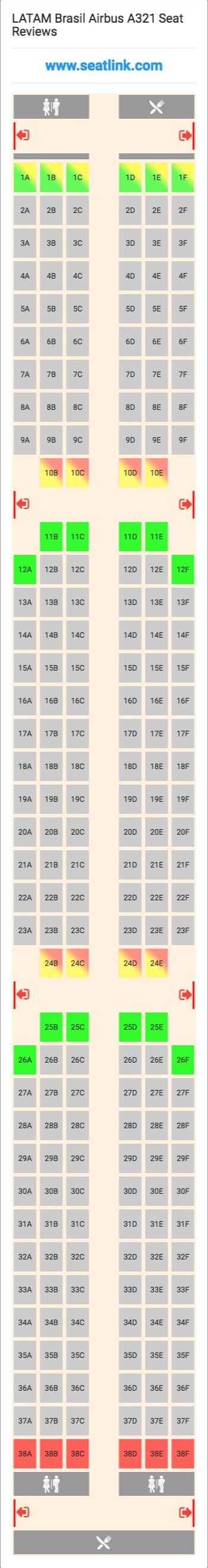 Πάνω από κορυφαίες ιδέες για Airbus A Seating Chart στο - Us airways a321 seat map
