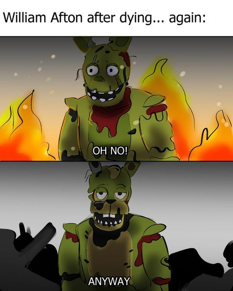 Stupid Funny Memes, Haha Funny, Funny Fnaf, Five Nights At Freddy's, Life Is Strange, South Park, Fnaf Wallpapers, William Afton, Freddy 's