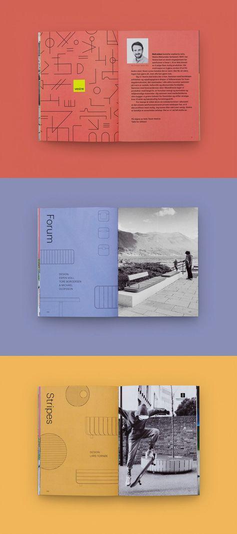 2019 Product Catalog Design by Tank Design for Vestre