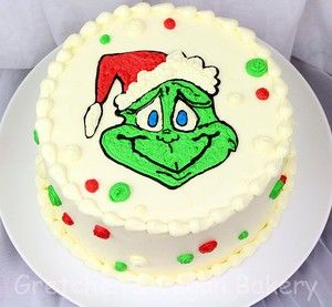 How To Make A Grinch Cake Simple Two Recipe Cake Recipe Grinch Cake Lemon And Coconut Cake Holiday Cakes
