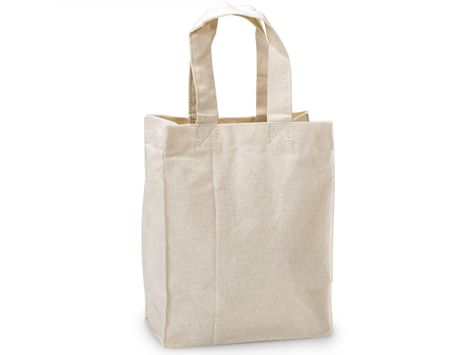 Canvas Reusable Ping Bag Totes