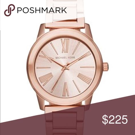 be32150566fa  Make Offer  NWT Michael Kors Rose Gold MK3491 More photos coming soon!  New