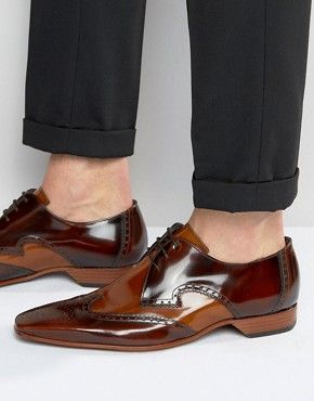 another chance retail prices reputable site Men's Formal Shoes | Office, Leather & Smart Shoes | ASOS | Brown ...