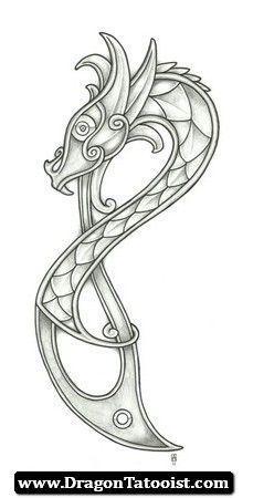 Pin Von Magali Auf Dibujo Wikinger Tattoos Wikinger Drachen Drachen Tattoo Designs