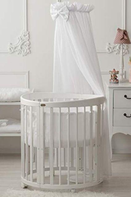 Comfortbaby Smartgrow 7in1 Weiss Mit Bettset Weiss Babybett Baby Krippen Bett Ideen