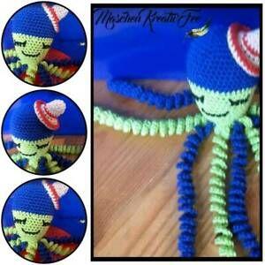 Fruhchen Octopus Krake Baby Farbwahl Sensorik Greifling Gehakelt In Baden Wurttemberg Pforzheim Baby Spielzeug Gebraucht K In 2020 Kugeln Hakeln Fruhchen Sensorik