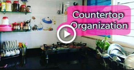 Small Kitchen Countertop Organization Kitchen Organization Ideas
