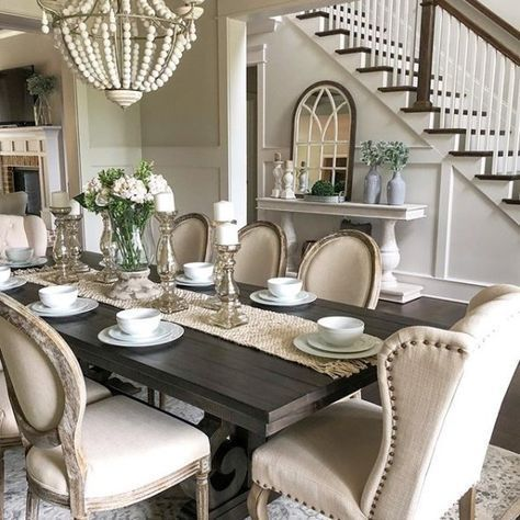 We Designed This Impressive Serving Table To Coordinate With Our Best Selling Andrews D French Country Dining Room Dining Room Table Decor Country Dining Rooms