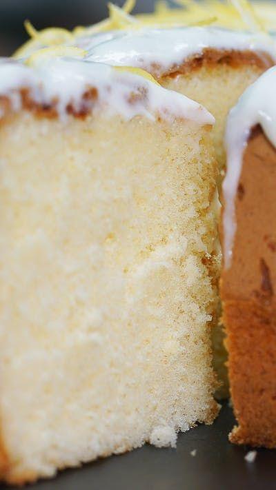 Kue Chiffon Lemon Resep Resep Kue Chiffon Resep Makanan Penutup Makanan Tv