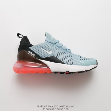 ea58feba4402 Fsr Nike Air Max 270 Seat Half Palm Air Jogging Shoes Turq Black And White  Vermilion